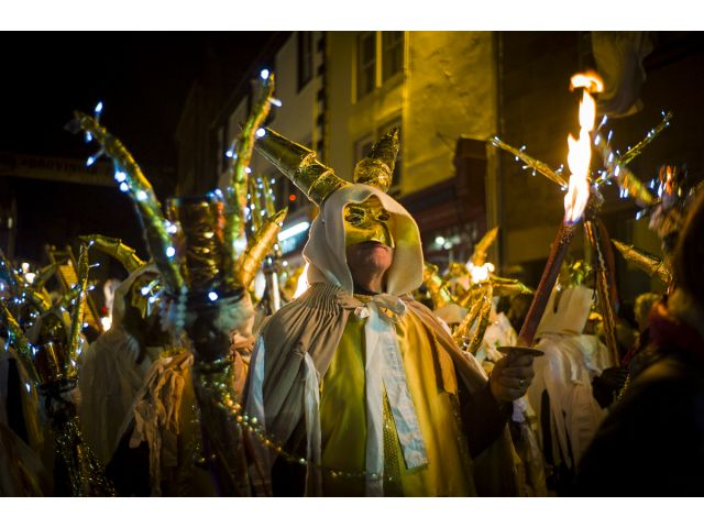 Winter Droving Masked Procession