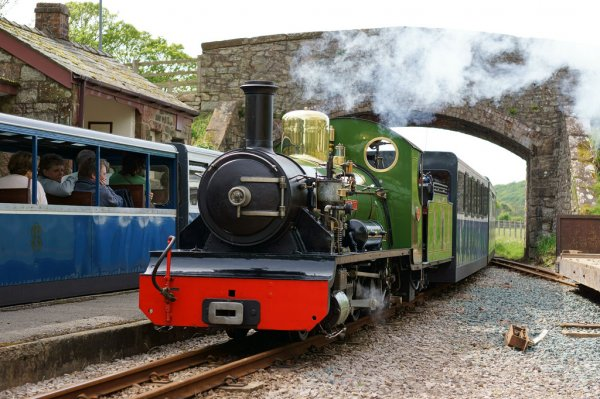Take your dog on the Ravenglass and Eskdale Railway